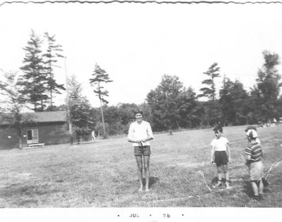 Oakville Recreation Commission Day Camp, Pine Ridge Camp Site, July 1956