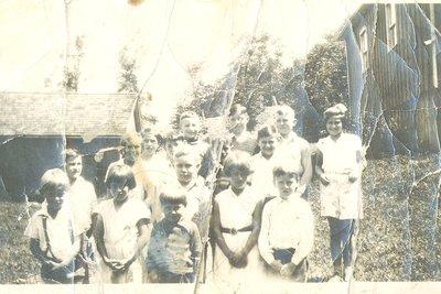 S.S. #14, Glenorchy School Children, 1930's