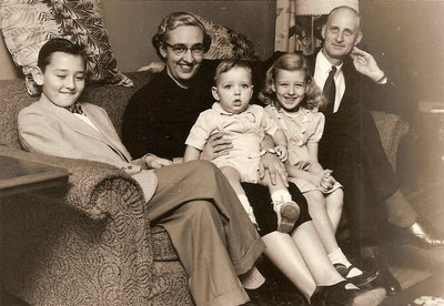 Family of Harry and Wilma Wilson, ca1956