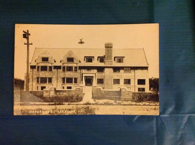 Postcard of Independent Order of Foresters Orphanage, Oakville, 1914-1943