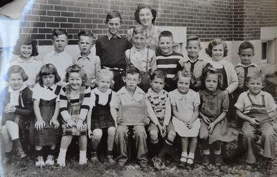 S.S. #2 Palermo School Children, 1951