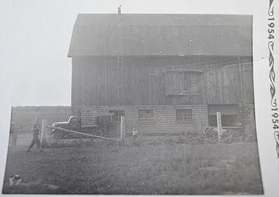 Painting the Shillum Barn, 1952-1954