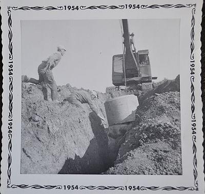 Well Digging, Shillum Farm, 1953