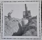Well Digging, Shillum Farm, 1953