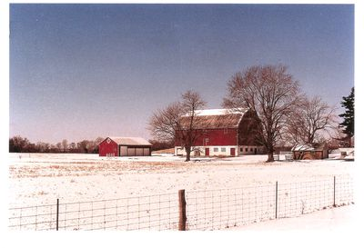 Barn on Picket Farm, 1988