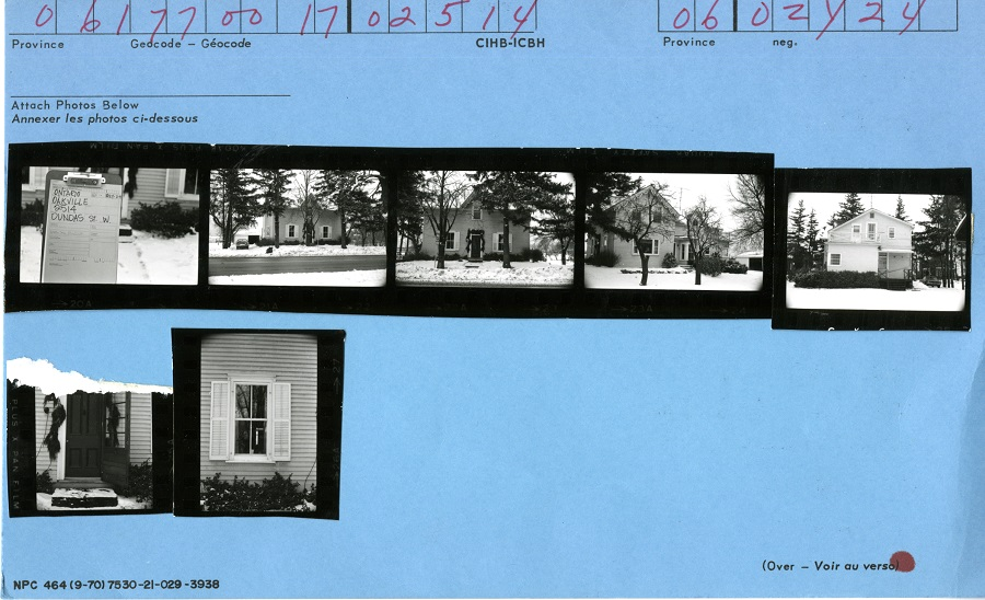 2514 Dundas Street West, Canadian Inventory of Heritage Buildings, 1972