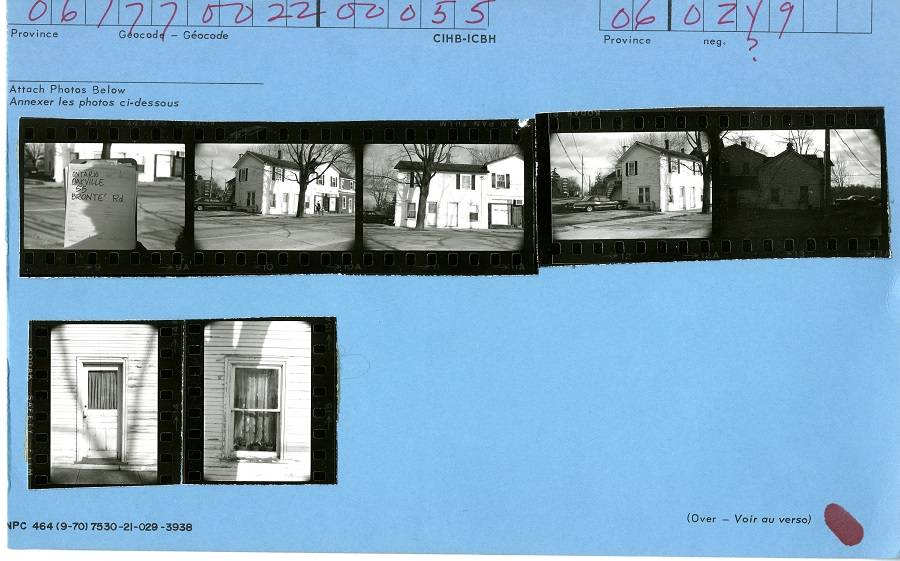 55 Bronte Road, Oakville, Canadian Inventory of Heritage Buildings, 1971