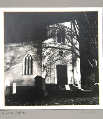 Gerald William Davey - Pre-Confederation Churches of Halton County Photography, Photographed ca1980