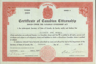 how to get citizenship in usa from canada