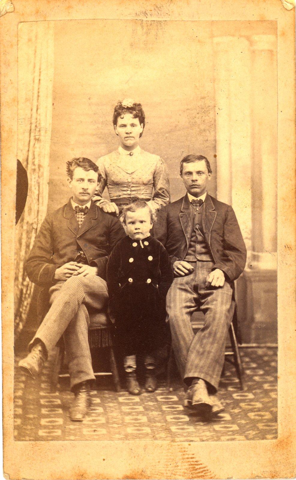 Elizabeth Wilkinson, Hiram Norton, Francis Norton