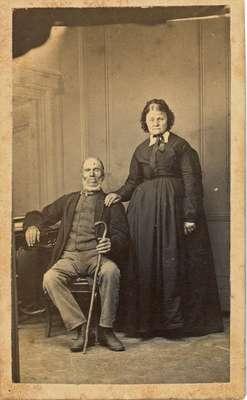 Francis & Clarissa (Simons) Wilkinson