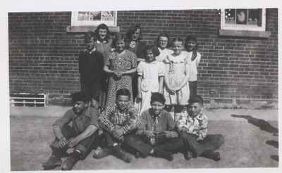 Coyne School 1951-52, Grades 5-8.