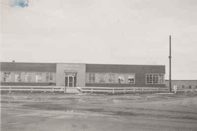 Township Hall, Trafalgar.  Spring, 1952.