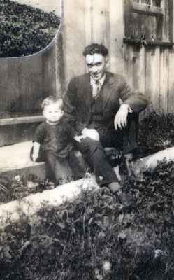 R. Ford and His Son Hank (Featherstone) Ford.