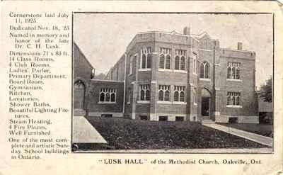 Postcard of Lusk Hall