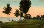 Postcard Showing the Town Park, Oakville.