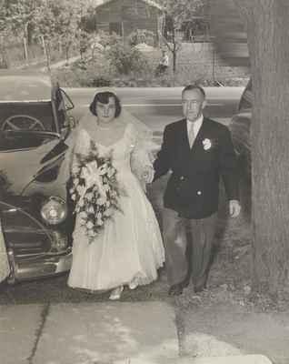 Wedding of George & Yvonne Wettlaufer
