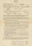 Teaching Contract Between Ethel Wettlaufer and the Trafalgar School Area, 1945