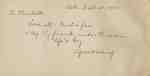 Charlotte Waterbury's Autograph Book