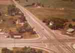 Dundas Street and Bronte Road Intersection, 1975