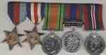 Robert Taylor Kay's War Medals