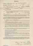 Teaching Contract between Ethel Wettlaufer and Trafalgar Township School Area, 1949