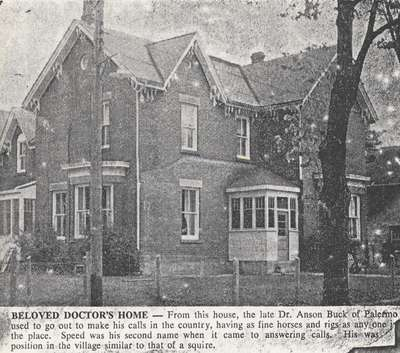 Home of Dr. Anson Buck
