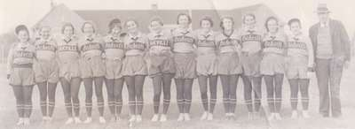 Oakville Ladies Softball Team 1936