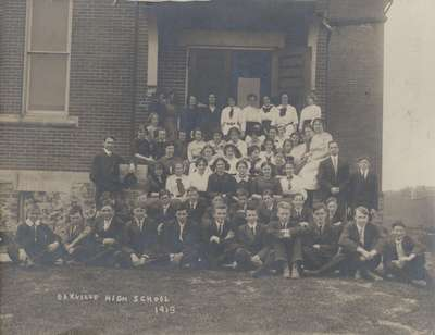 Oakville High School 1913