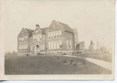 Oakville High School ca 1908-1910