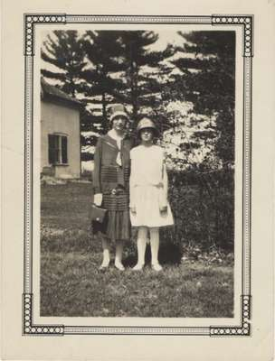 Helen Chisholm and Miss Smith