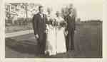 Wedding Photograph- Roy and Margaret Heslop