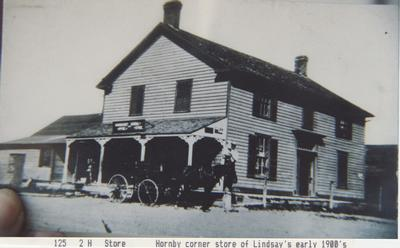 Hornby Store, Early 1900's