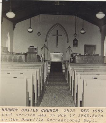 Hornby Methodist Church Interior