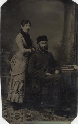James W. McCraney with Lilian Electa Wihelminia McCraney (1959 - 1919)