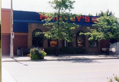 Harvey's, South Side Of Lakeshore Rd. East, Bronte August 2004