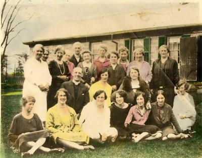 Ladies Aid, Omagh Presbyterian Church, 1920s
