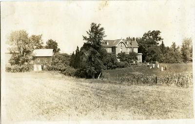 Oakhurst, Back View.