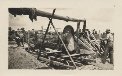 Elmer Downs' Saw-Mill