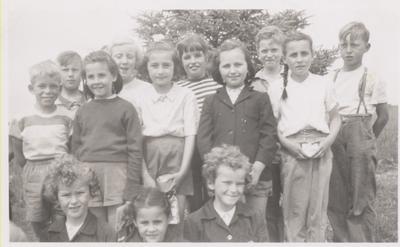 Coyne School Picnic, 1952