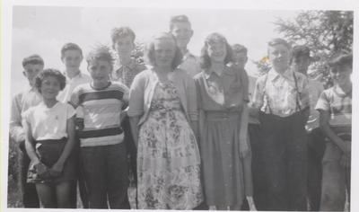 Coyne School 1950-1951, Grades 5-8.