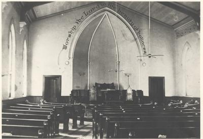 Inside of Palermo Church