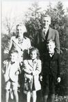 Family of Cecil Lawrence, Oct 1946.