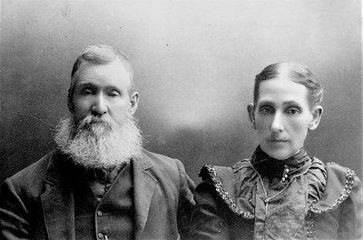 Robert and Elizabeth Hagen, circa 1890