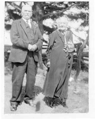 Mr. and Mrs. Duncan McLennan, 50th Anniversary, 1924