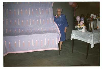 Mrs. Eva Tremblay, 90th Birthday Celebration, circa 1990