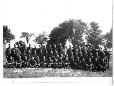 Sault Ste. Marie and Sudbury Regiment, Thessalon, 1940