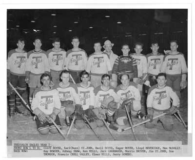 Thessalon Eagles Hockey Team, Circa 1949