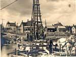 Building Huron Street Bridge, Thessalon, circa 1890