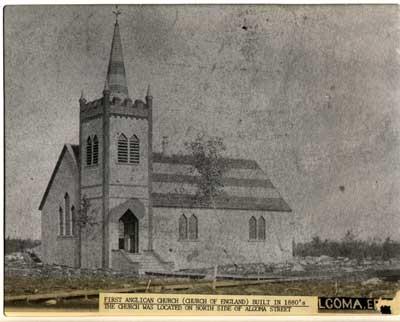 First Anglican Church, Thessalon, circa 1880